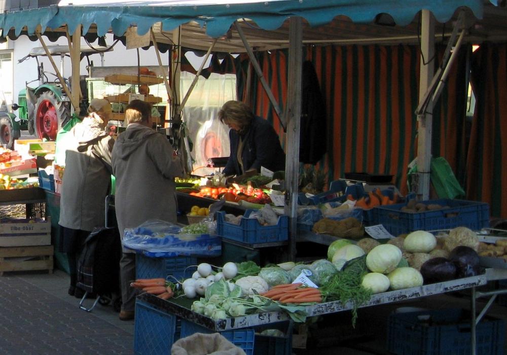Der Wochenmarkt in Lehre soll bald in neuem Glanz erstrahlen. Foto: Gemeinde Lehre