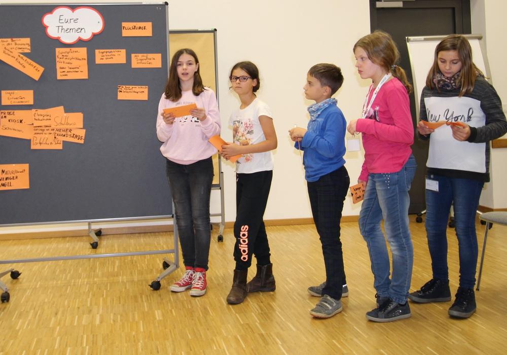 Die Mitglieder des Kinderbeirates legten die Themen für das kommende Jahr fest. Foto: Stadt Wolfsburg