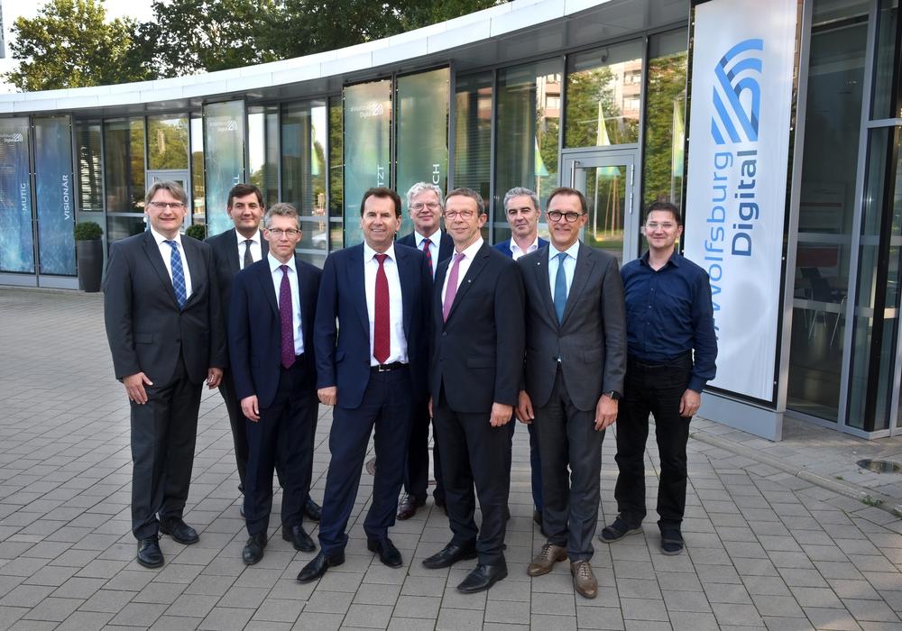 Steuerkreis von #WolfsburgDigital spricht über digitale Stadtentwicklung. Foto: Lars Landmann