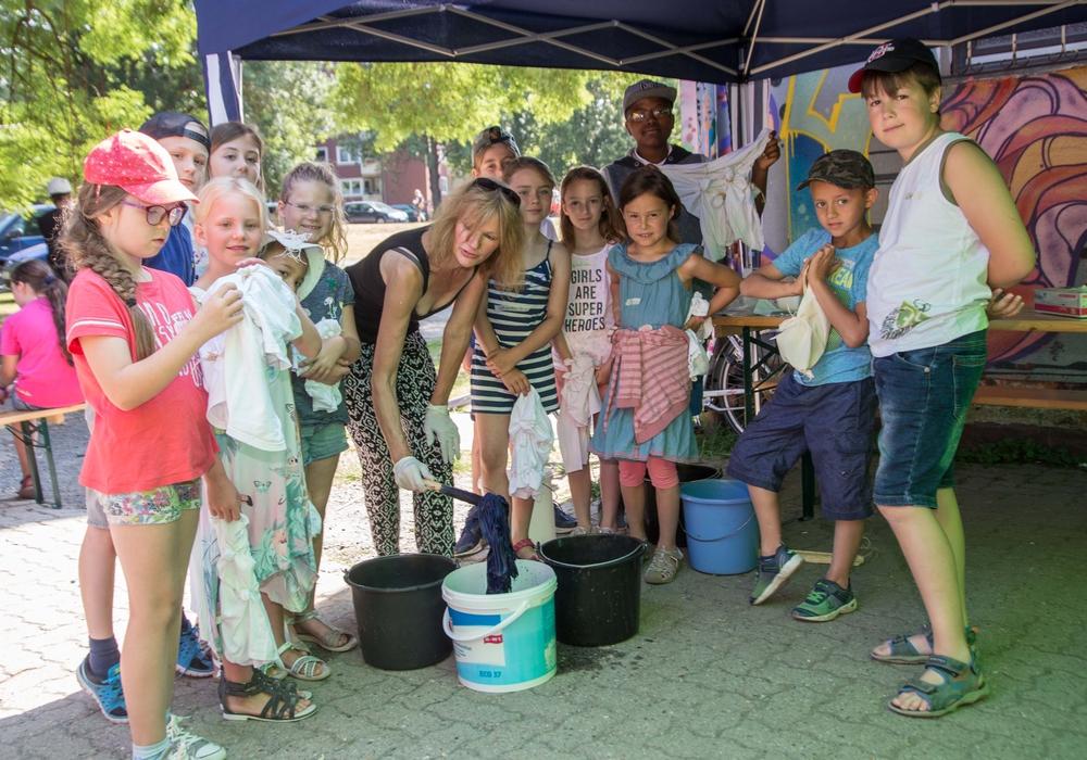 Die Ferienerlebnistage begeistern die Kinder. Fotos: Karliczek