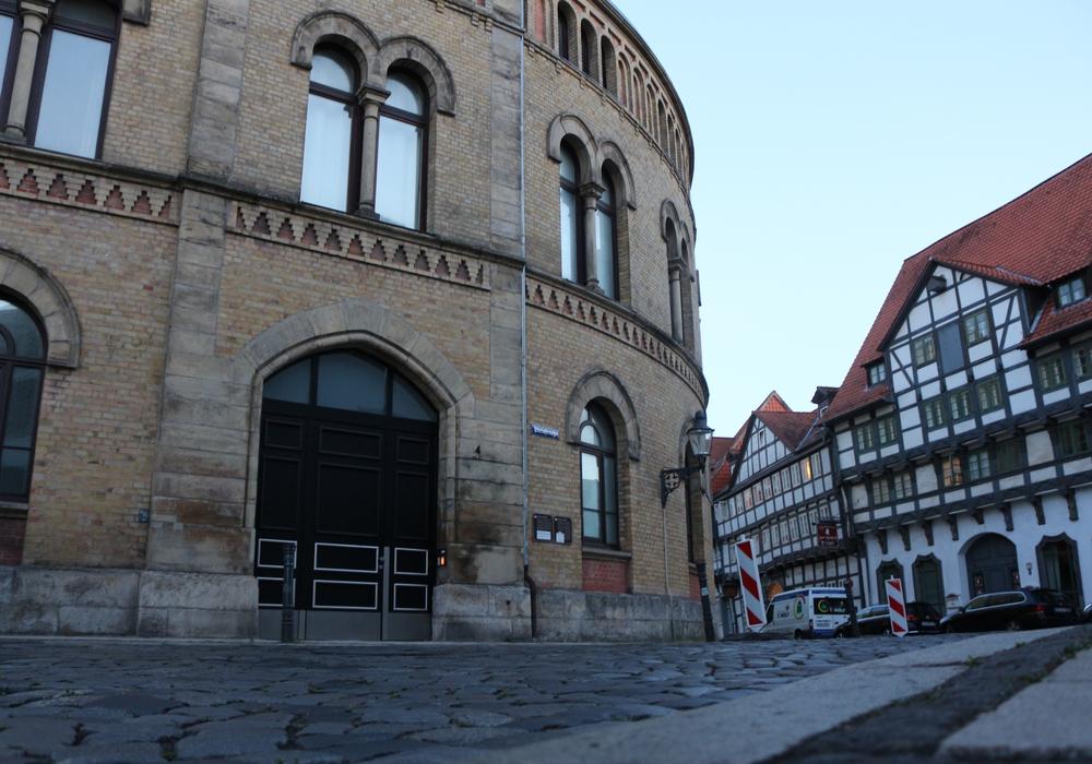 Die Synagoge in Braunschweig.