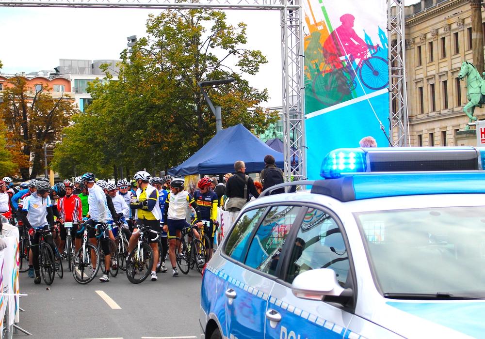 Die Cycle Tour bringt einige Verkehrseinschränkungen mit sich. Foto: Nick Wenkel