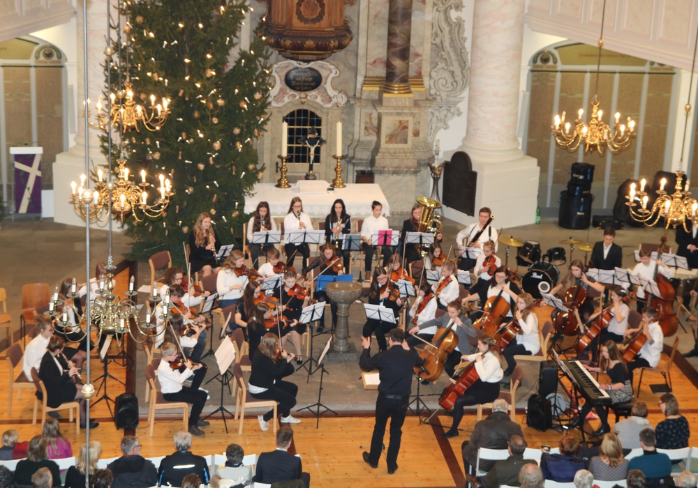 Das Schulorchester des GiS. Fotos: privat