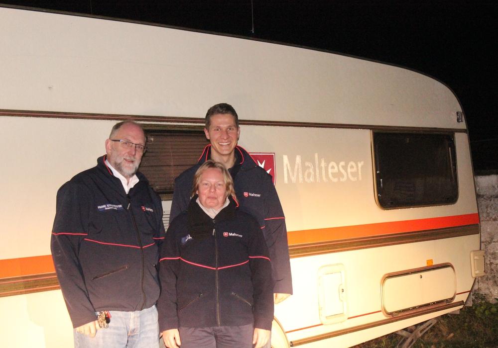 Der Malteser Hilfsdienst Braunschweig hofft auf die Hilfe aus der Bevölkerung. Eine neue mobile Sanitätsstation soll angeschafft werden. Foto: Anke Donne