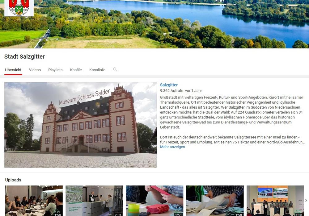 Bald hat die Stadt auf youtube die Marke von einer Million Abonnenten geknackt. Foto: Stadt Salzgitter