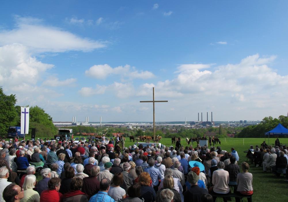 Auf der Kirchenmeile können Besucher Orte der Ruhe und die Welt des Glaubens erkunden. Foto: Dieter Hoffmann