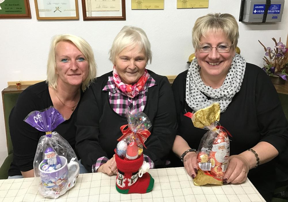 Die Gewinnerin Jennifer Rühmann, Christa Rühmann (2. Platz) und Bettina Marheineke (3. Platz) Foto: Natalia Matzuga