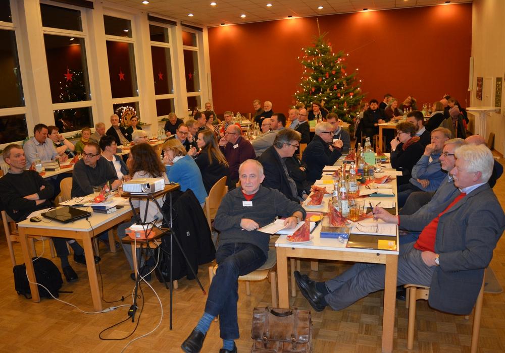 Am Montagabend fand die 16. Sitzung des Kirchenkreistages im Gemeindehaus der Friedenskirche statt. Foto: Ev.-luth. Kirchenkreis Peine