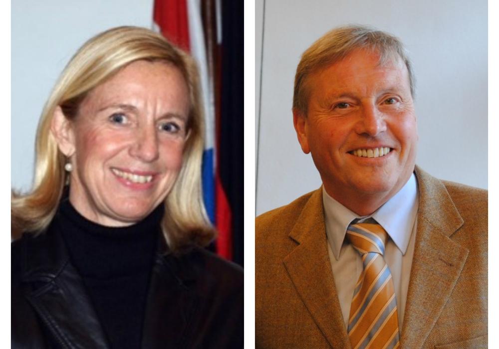 Sabine Behrens-Mayer und Lutz Kleber laden zur Gesprächsstunde ein. Fotos: Archiv/CDU