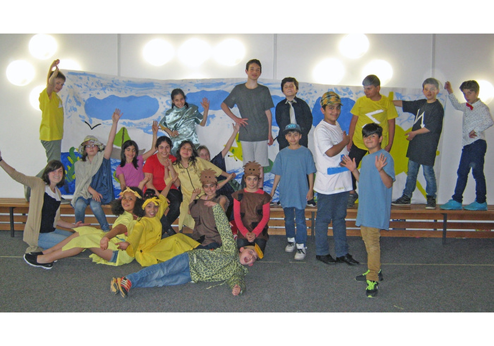 Die Kinder der Grundschule Ostertal. Foto: Grundschule Ostertal