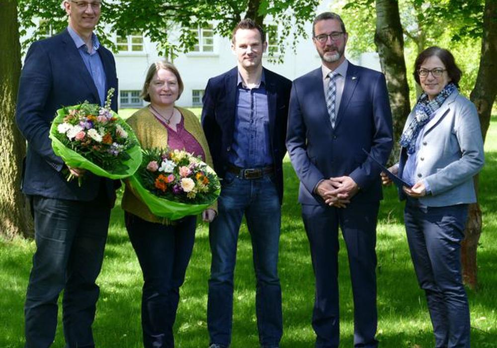 Wilfried Wöhler, Britta Schmitt, Amadeus Meinhardt-Hey, Walter Wimmer und Anne Rickmeyer. Foto:  NLWKN