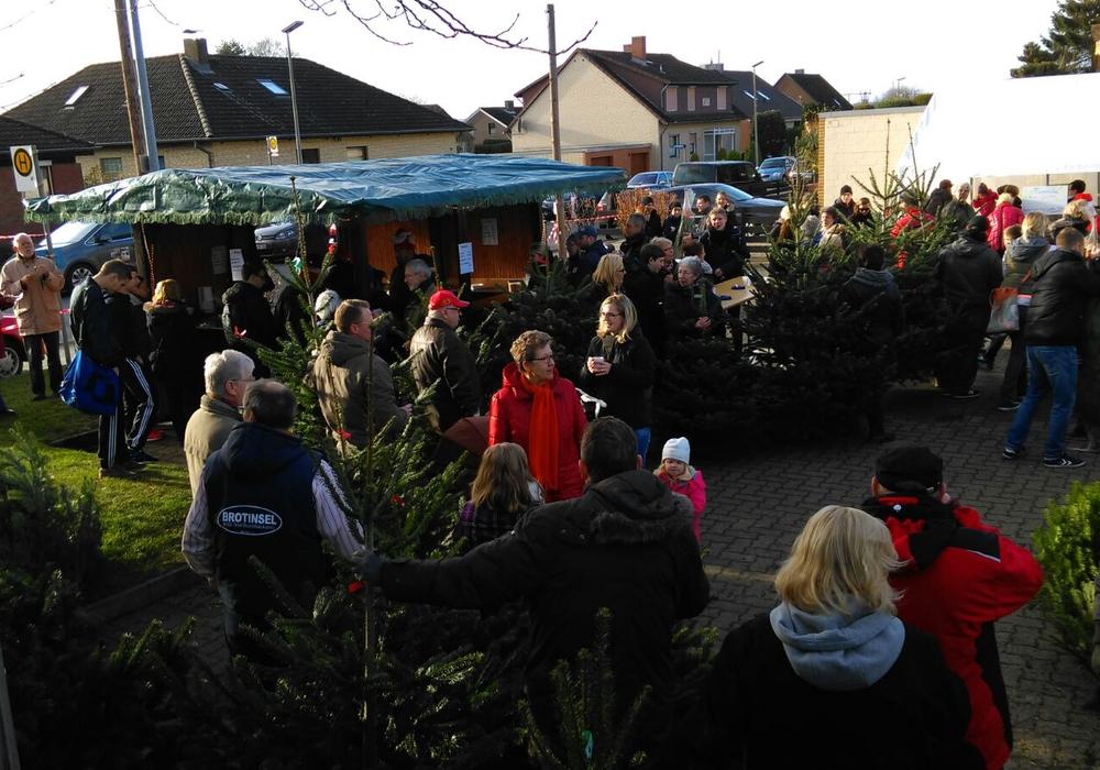 Der Denkter Weihnachtsmarkt im vergangenen Jahr. Foto: Anja Steinke