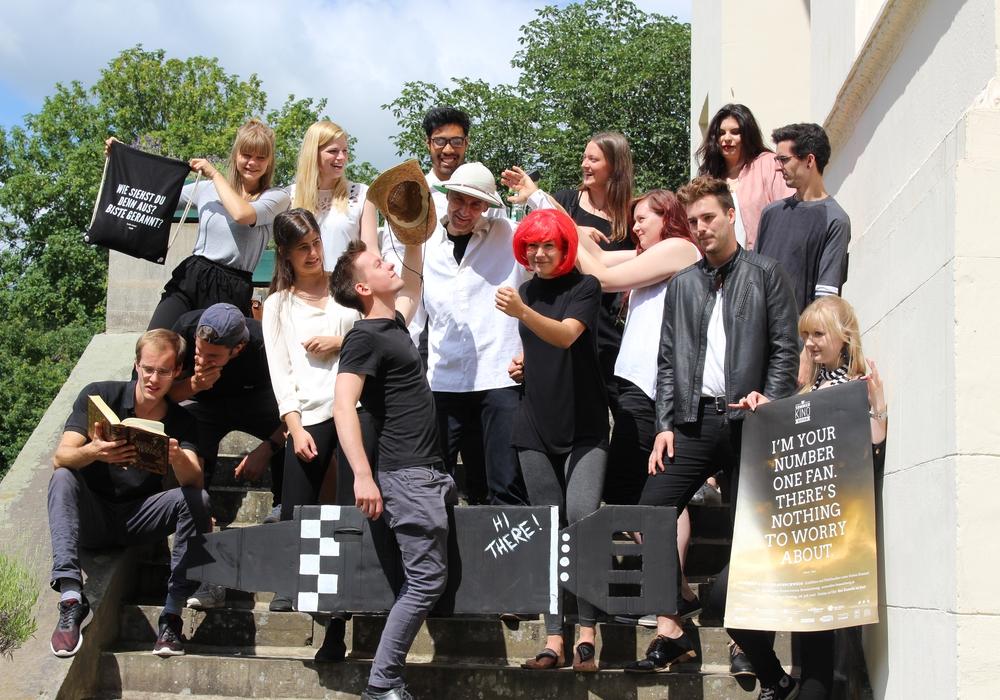 Die Mitglieder des Vereins Sommerkino Braunschweig freuen sich auf das diesjährige Sommerkino. Fotos: Max Förster