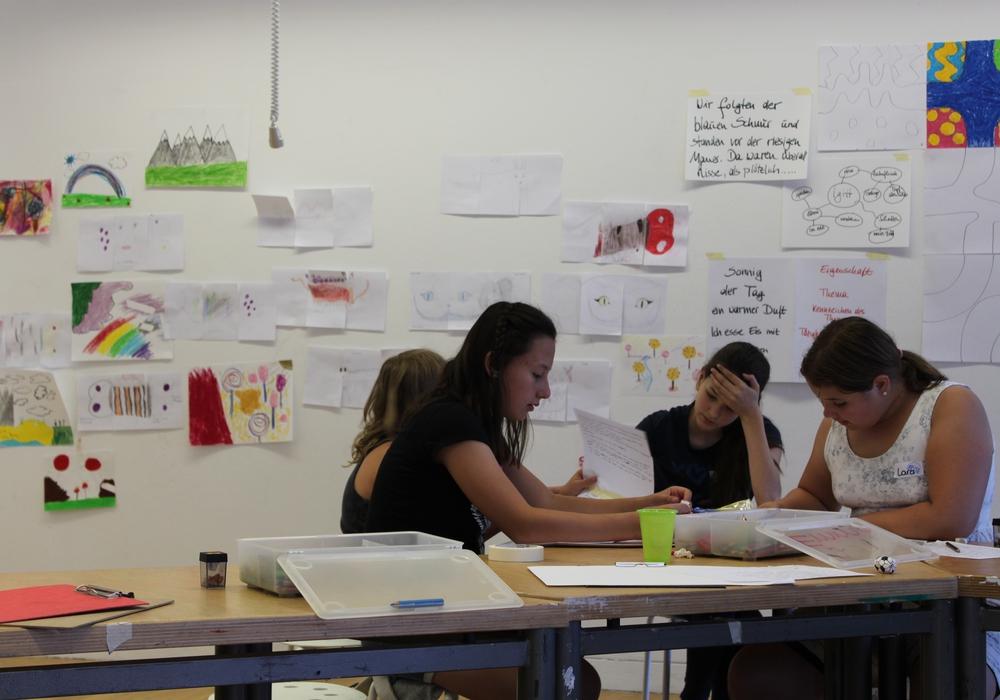 Im Kunstmuseum fand ein Workshop für Kinder und Jugendliche statt. Foto: Stadt Wolfsburg