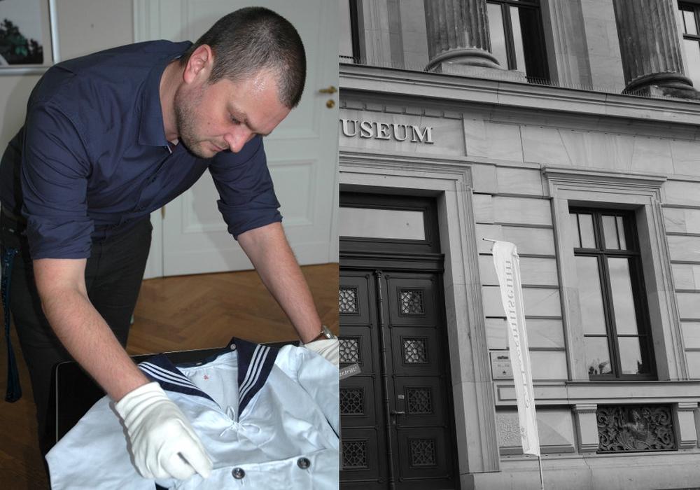 Bereits im vergangen Jahr haben das Schlossmuseum zahlreiche Leihgaben von Braunschweiger Bürgern erreicht. Hier begutachtet der Mitarbeiter Marcus Neumann M.A. eines dieser Objekte. Foto: Schlossmuseum