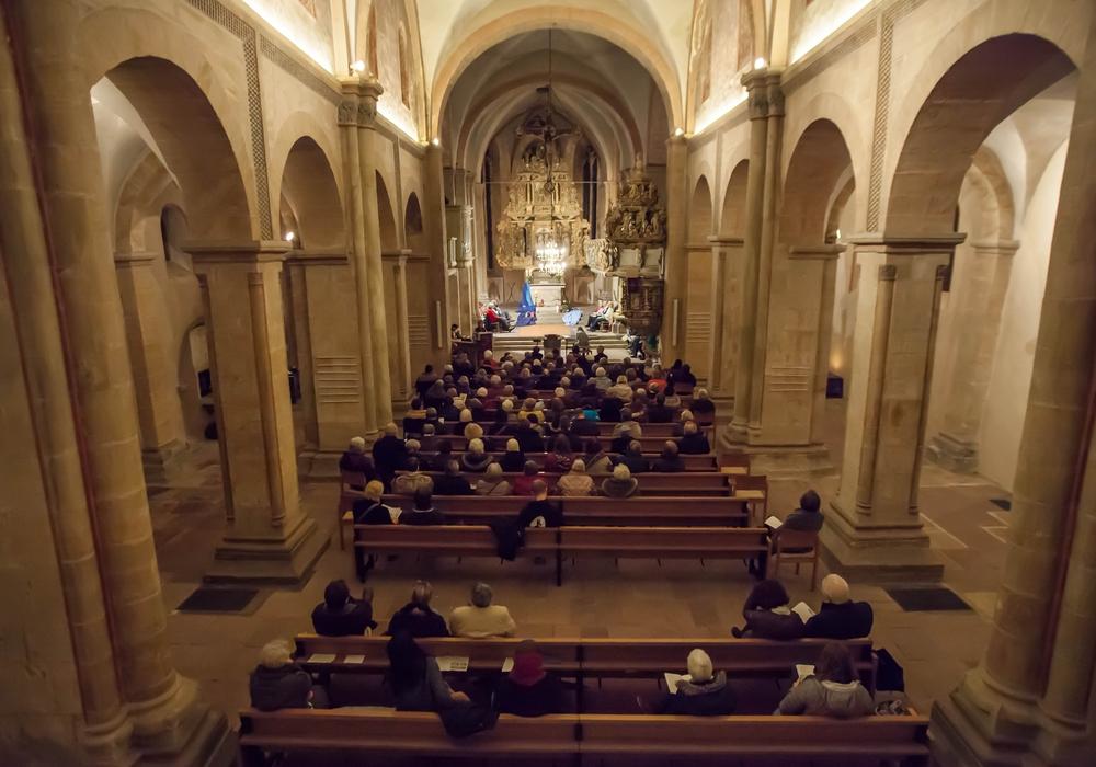 Die Goslarer Gemeinden versammelten sich zum Gottesdienst anlässlich des Weltgebetstages 2016 in der Frankenberger Kirche. Foto: Alec Pein