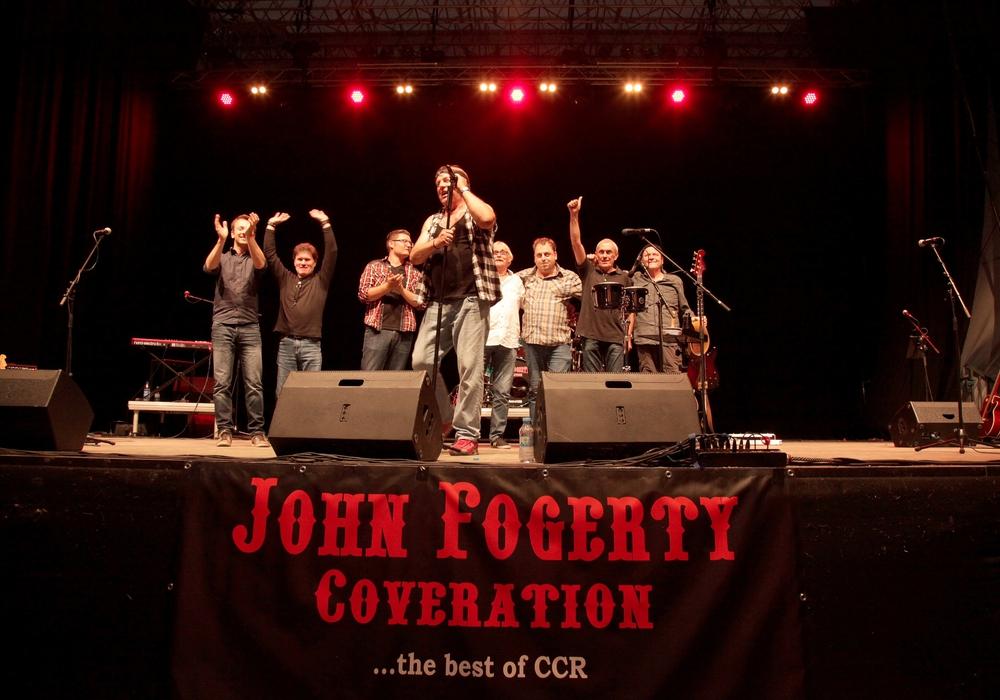Die John Fogerty Blues Coveration hat sich dem Werk der Kultband Creedence Clearwater Revival verschrieben. Sie ist eine von vier Bands, die beim Rock am Berg spielen werden. Foto: Kampani