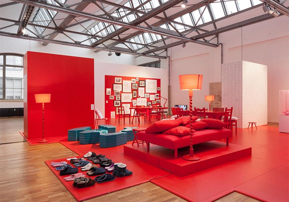 """Ausstellung """"Neue Standards"""" im DAZ, Berlin © schnepp . renou"""