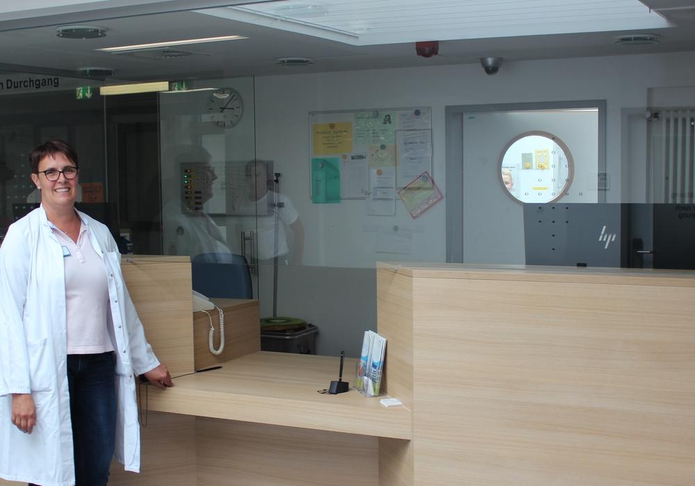 Dr. Bernadett Erdmann, Chefärztin der Zentralen Notfallaufnahme. Foto: Klinikum Wolfsburg