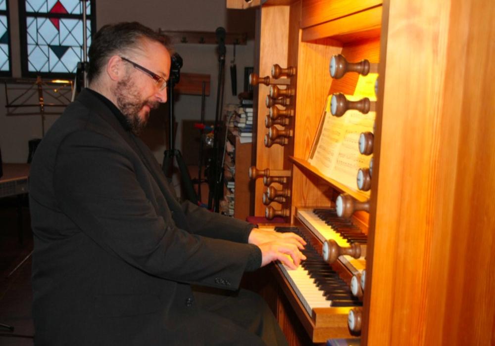 Orgelkonzert in der Kirche Halchter gespielt von Hans-Dietr Karras. Foto: Privat