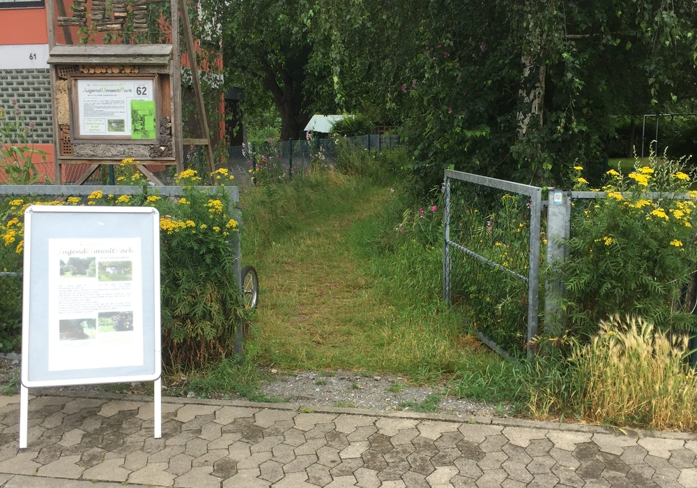 Es wird geladen in den : JugendUmweltPark Braunschweig, Kreuzstraße 62, Foto: JUP