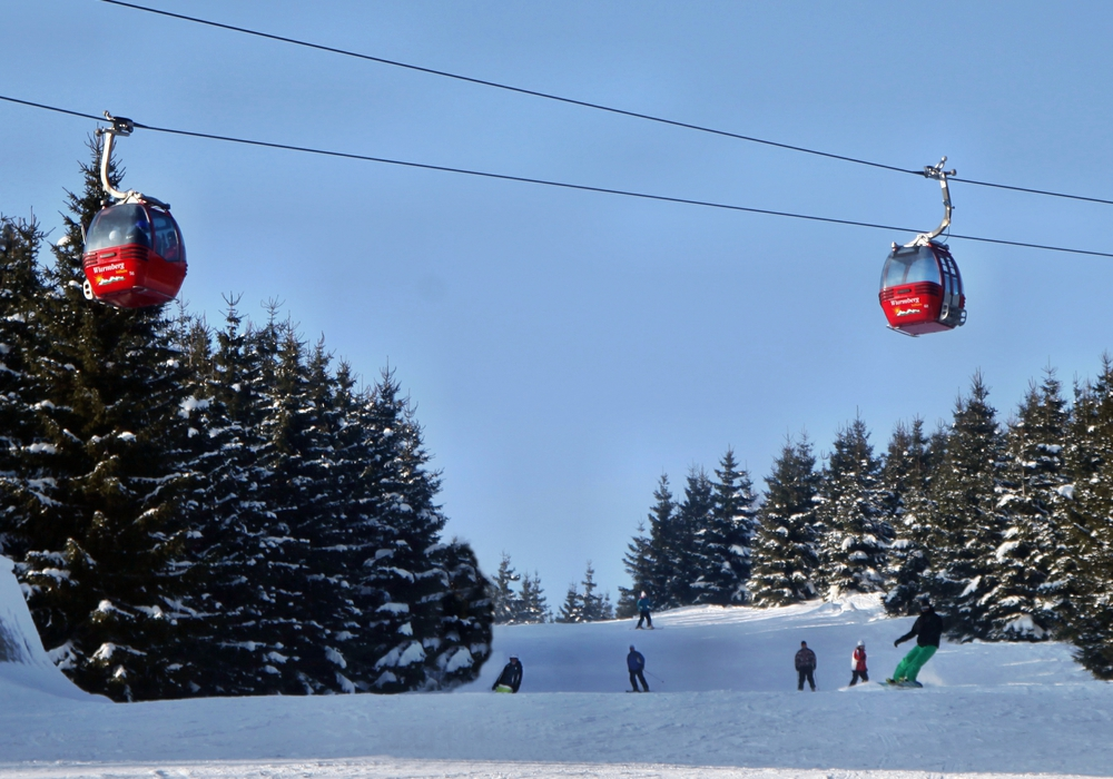Die Wurmbergseilbahn  bleibt vom 7. November bis voraussichtlich 9.Dezember geschlossen. Foto: Braunlage Tourismus GmbH