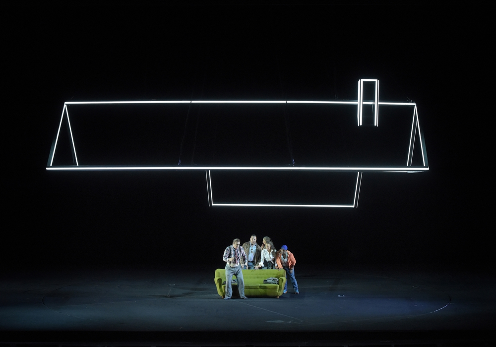 Eine Szene aus Don Pasquale. Foto: Vincent PONTET