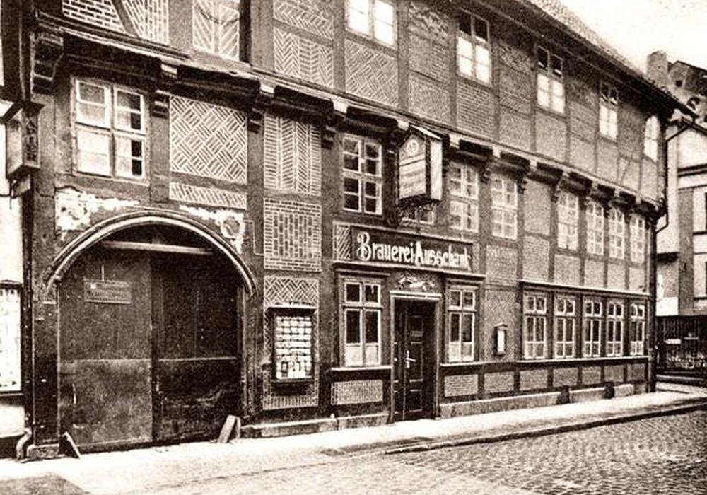 Die Fassade von Funkes Bräustübl früher. Foto: Bernd Giere