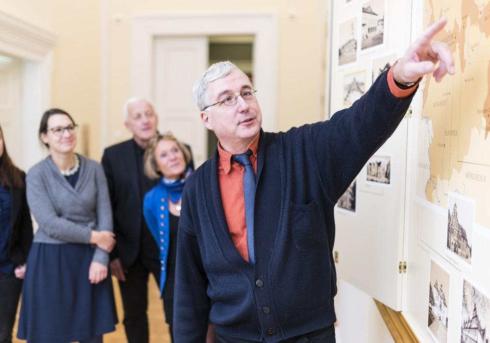 Drei spannende Führungen geleiten durch die Geschichte des alten und des neuen Schlosses. Fotos: Schlossmuseum/Küstner