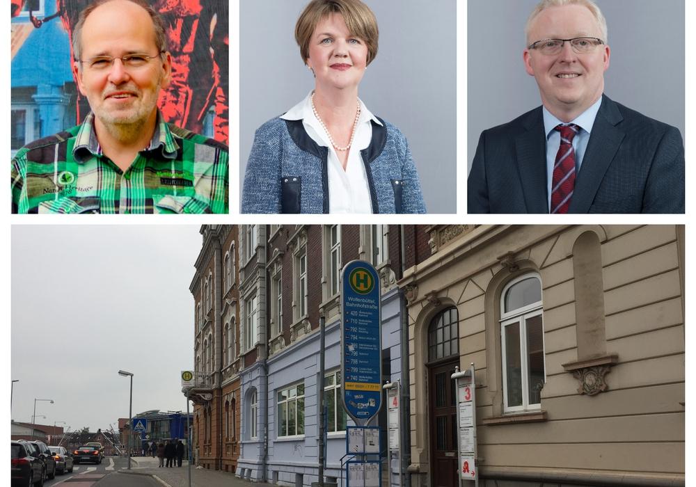 SPD und Linke äußern sich zum Sozialticket. Fotos: Anke Donner, SPD und Linke