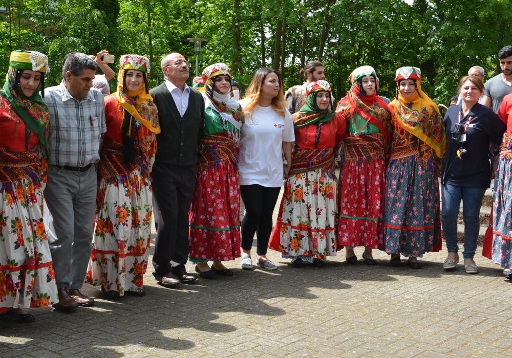 Auch in Schladen werden sich Tanzgruppen (wie hier in Schöppenstedt) präsentieren. Foto: DRK
