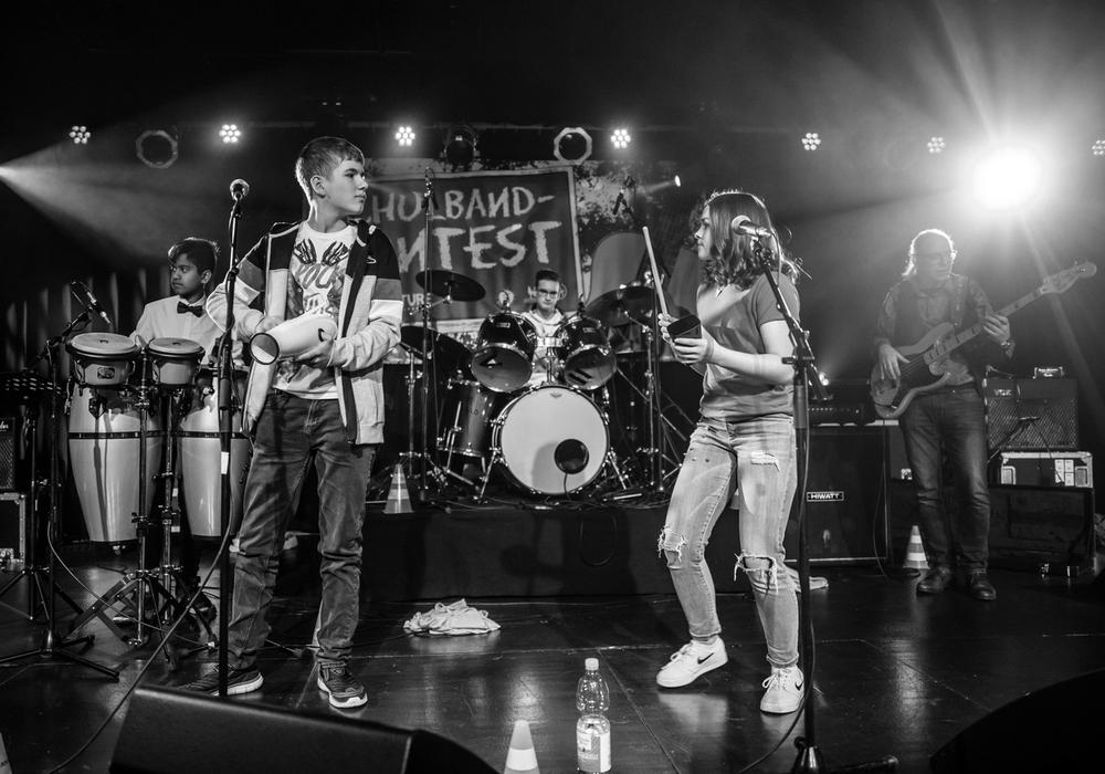 Die Schülerband des Kranich Gymnasiums hatte die Jury überzeugt. Fotos: YOUTHandCULTURE – Jugendkultur in Wolfsburg