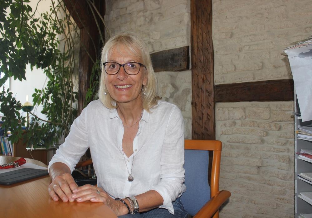 Mehr als 13 Jahre war Ulrike Schade Schulleiterin am Gymnasium im Schloss. Nun naht der Ruhestand. Foto/Video: Anke Donner