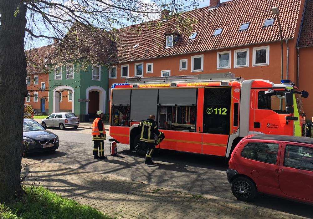 Die Feuerwehr konnte ziemlich bald wieder abrücken. Fotos: Alexander Dontscheff