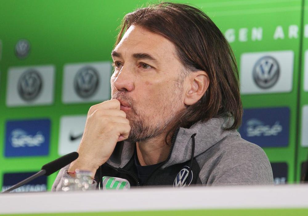 Martin Schmidt äußerte sich erstmals zu seinem Rücktritt beim VfL Wolfsburg. Foto: Agentur Hübner/Archiv