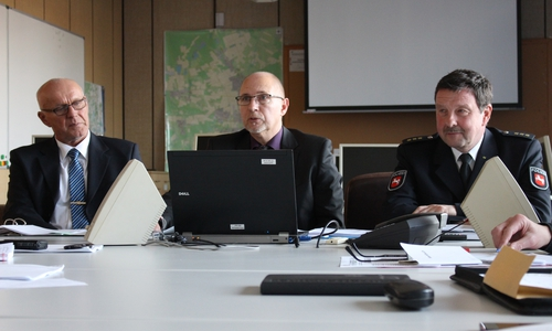 Die Polizeiinspektion Gifhorn stellt die Kriminalstatistik vor.