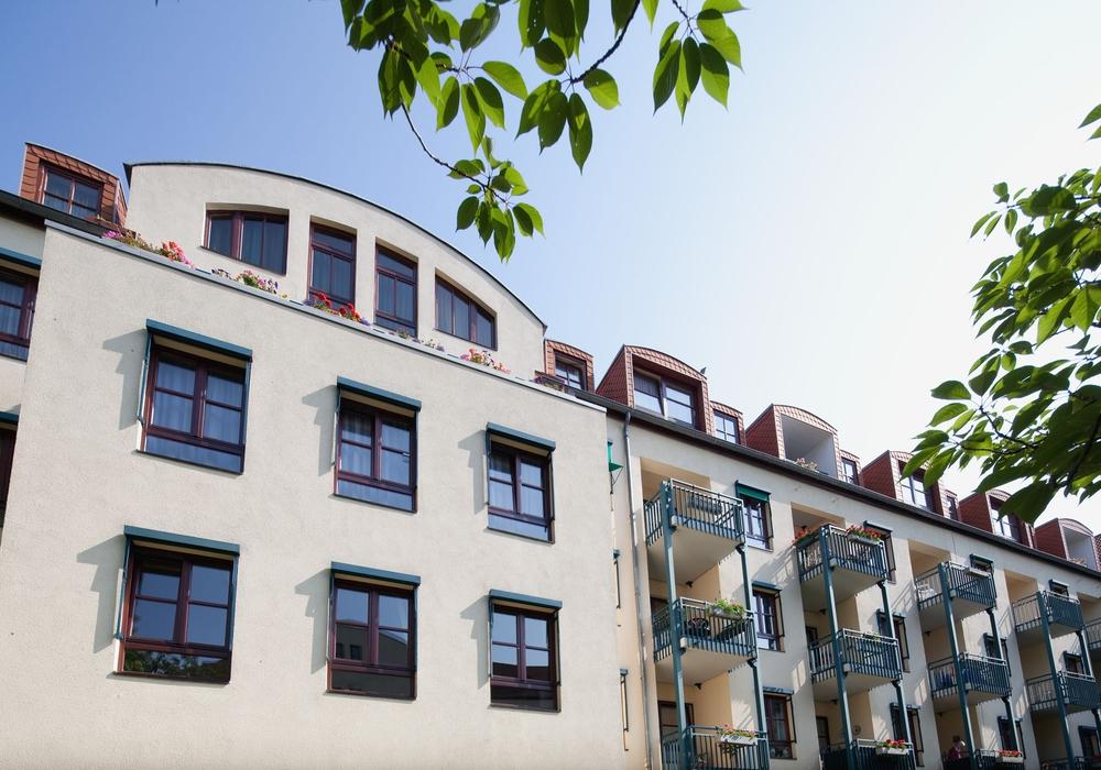 Der Wohnpark am Wall. Foto: Margarethenhof Gruppe