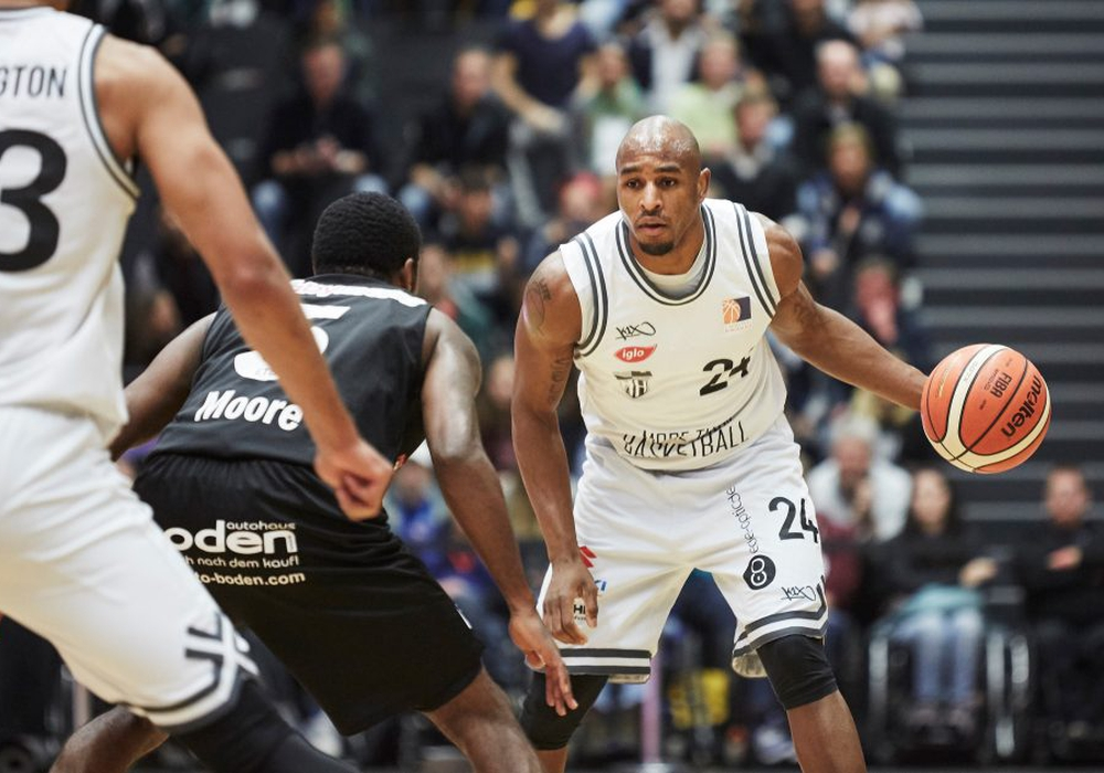 Rekordhalter an seinem College: DeAndre Lansdowne. Foto: 2. Basketball Bundesliga