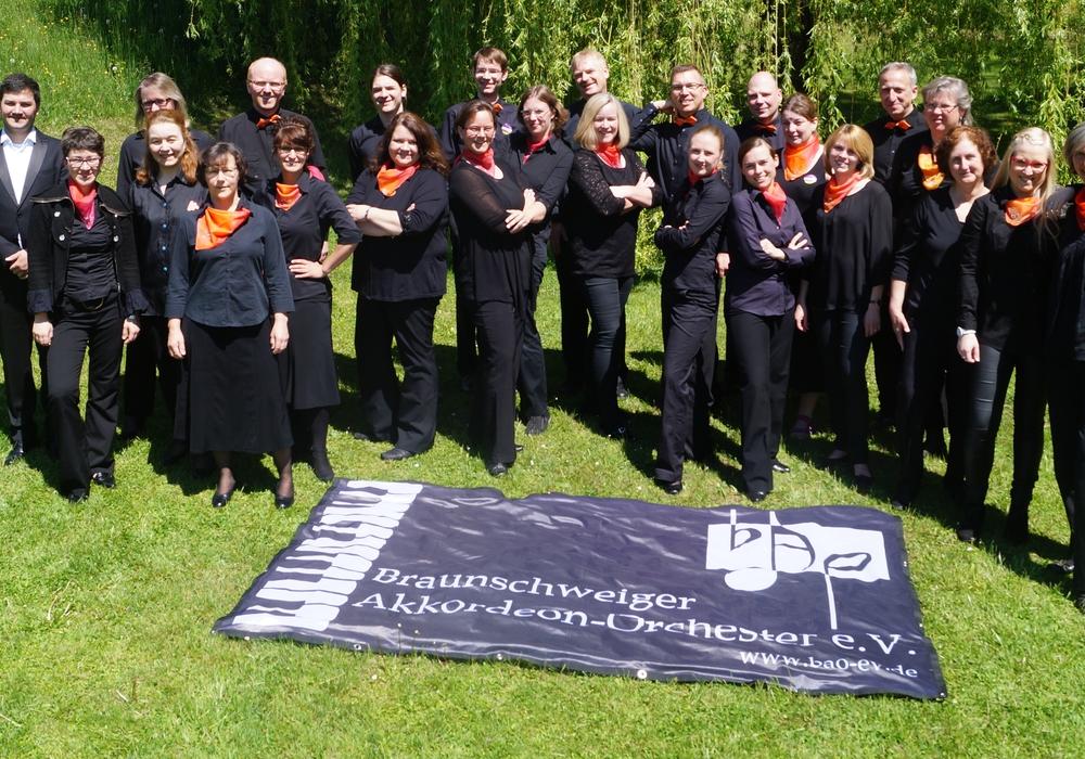 Das Braunschweiger Akkordeon-Orchester (BAO) Foto: BAO