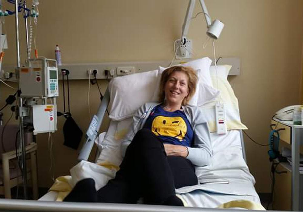 Im Jahr 2014 bekam Martina die Diagnose Brutskrebs. Mit einer Operation und Chemotherapie wurde gegen die Krankheit vorgegangen. Foto: privat