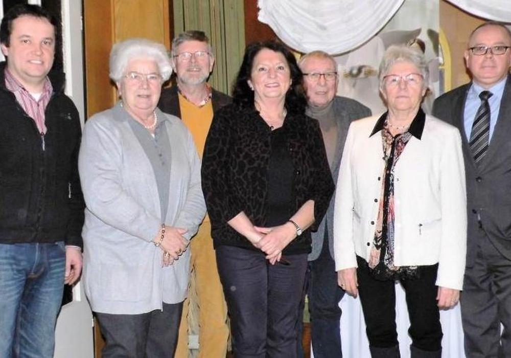 Der Vorstand des Gärtnermuseums zur Mitgliederversammlung: Florian Kinne, Doris Liefner, Volker Baumann, Susanne Gründel, Dr. Kurt Kühne, Elisabeth Schwieger und Andreas Meißler. Es fehlt Rosi Isensee (v. li.). Fotos: privat