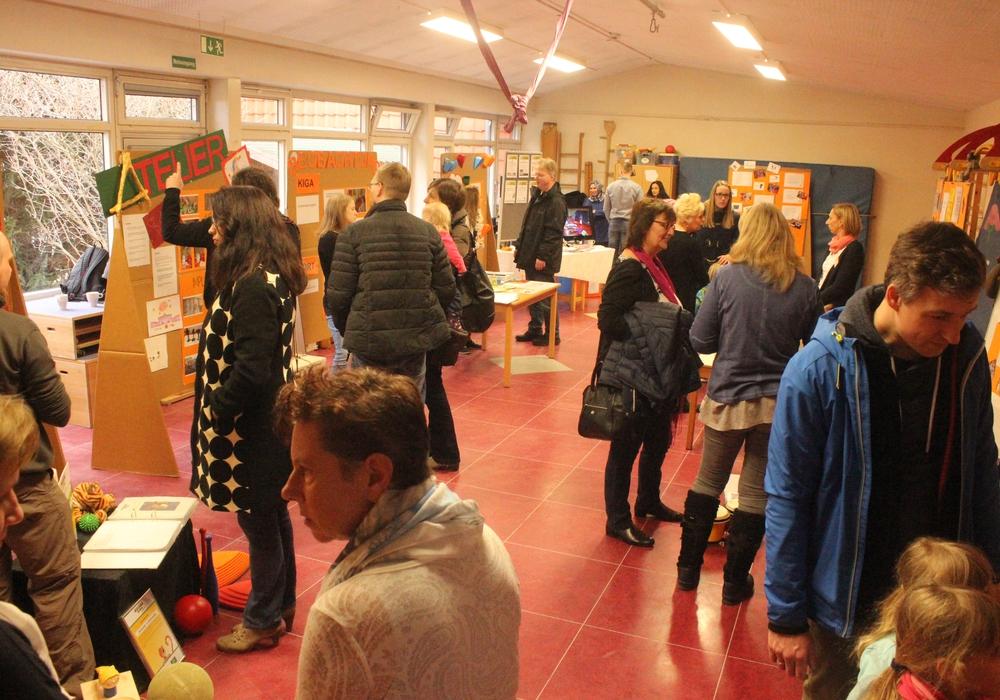 Das Kinder-und Familienzentrum lud zum Tag der offenen Tür ein. Fotos: Anke Donner