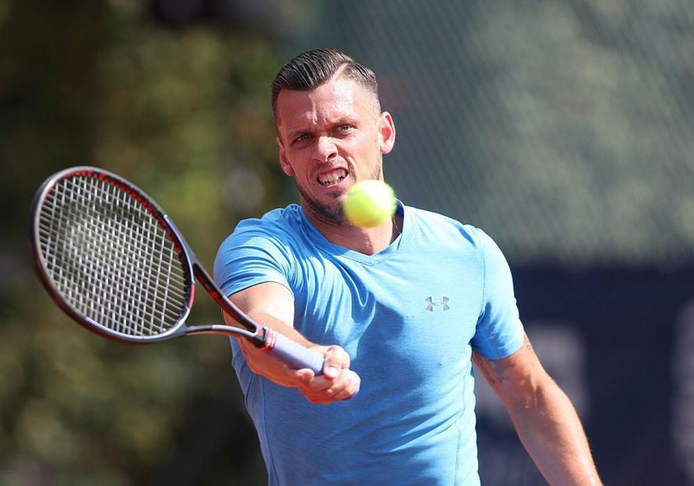 Das Finale des Braunschweiger Tennisturniers findet in diesem Jahr mit Deutscher Bereiligung statt. Tobias Kamke will den Titel. Foto: Agentur Hübner