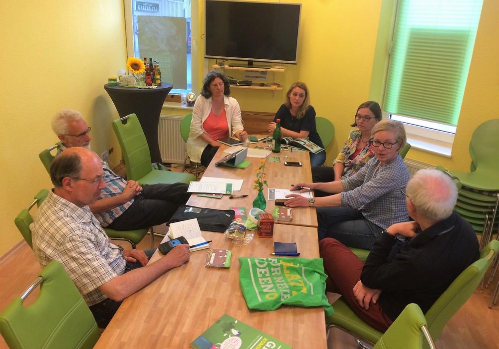 Am vergangenen Mittwoch versammelten sich die Mitglieder von Bündnis 90/Die Grünen. Foto: Privat