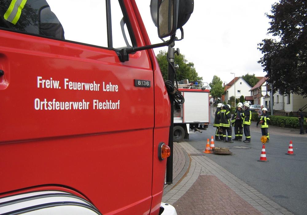 Die Feuerwehr Flechtorf musste zu ihrem 50. Einsatz im aktuellen Jahr ausrücken. Foto: Feuerwehr Flechtorf