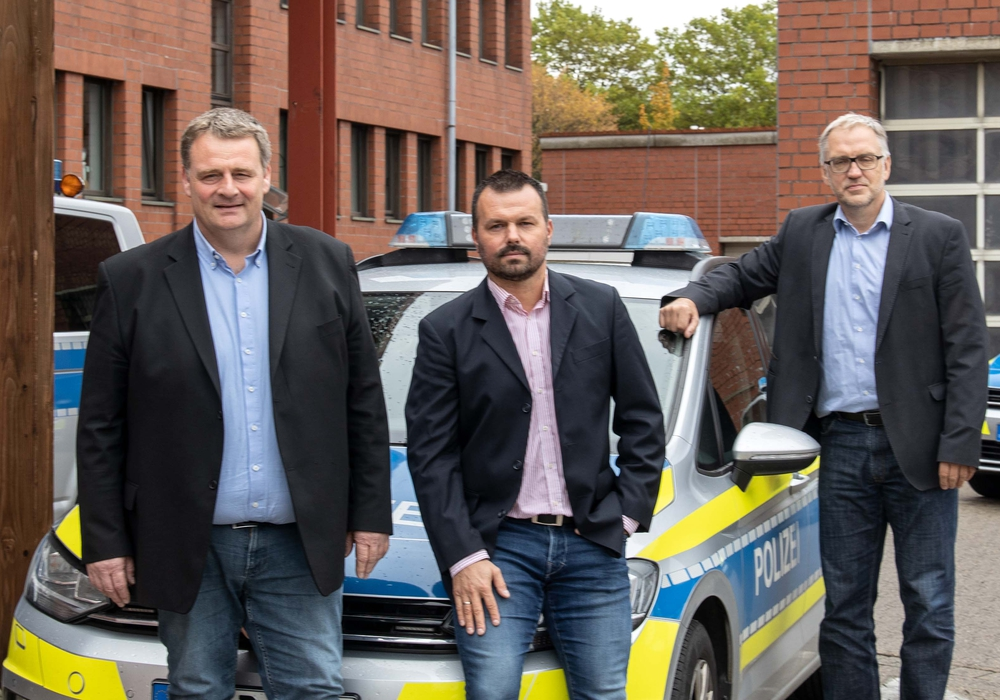 (von links) Andreas Alder; Markus Iwa; Volker Warneke. Foto: Rudolf Karliczek