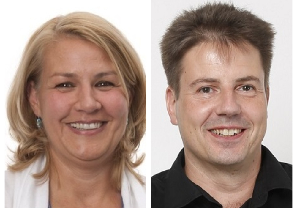 Die BIBS-Bezirksratsmitglieder Tatjana Jenzen und Oliver Büttner im Bezirk Wabe-Schunter-Beberbach haben Akteneinsicht genommen. Fotos: BIBS