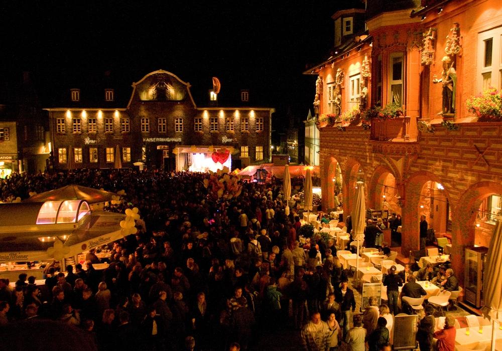 Vom 11. bis 13. September wird die Goslarer Innenstadt wieder zur Festmeile. Dann lädt die Kaiserstadt zum Altstadtfest ein. Foto: Stadt Goslar