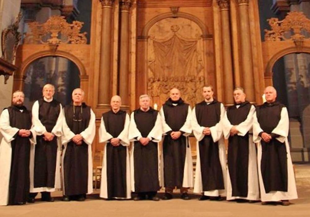 """Die Männer-Schola """"Gregoriana"""" wird zwei mittelalterliche Marienhymnen aufführen. Foto: Veranstalter"""
