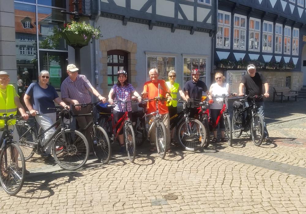Auf der Abschlusstour des Stadtradelns 2017 wurden zusätzlich 380 Kilometer gesammelt. Foto: Stadt Wolfenbüttel